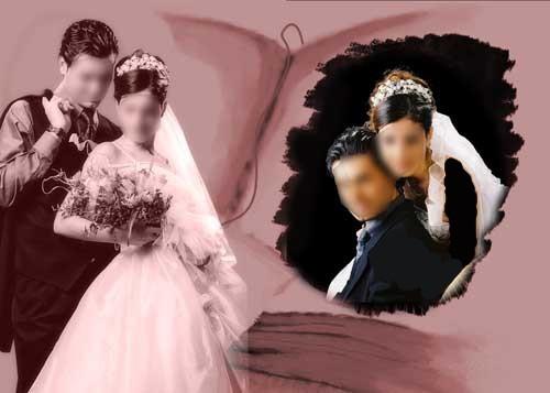 مدل ژست های عروس و داماد