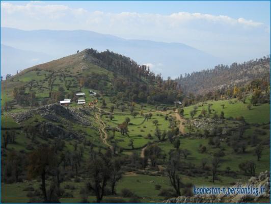 مسیر شاه شهیدان به درفک