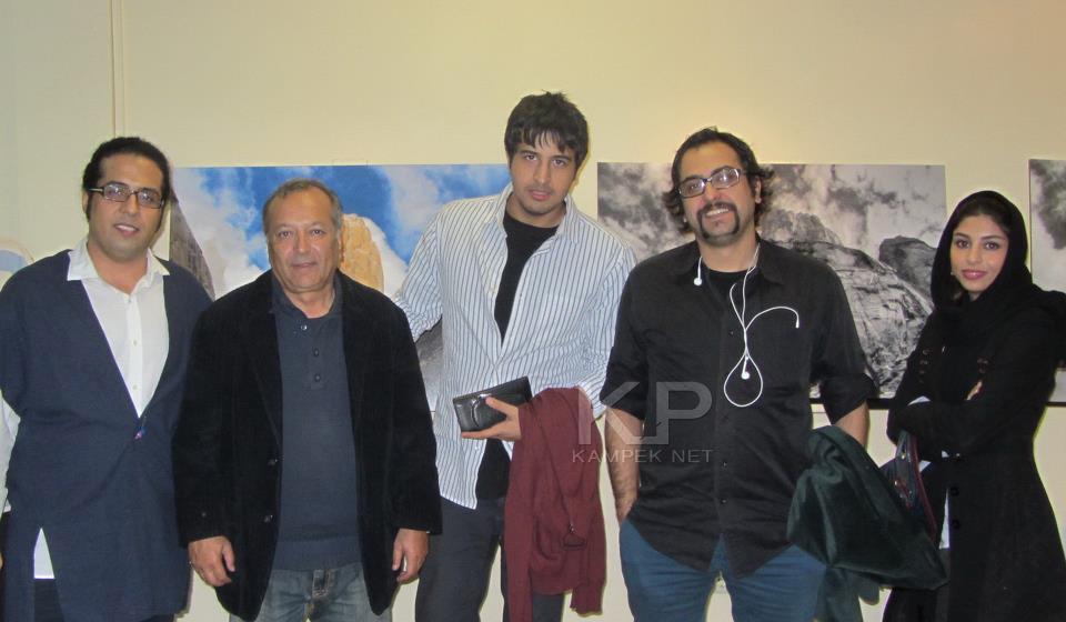 عکس جدید فتانه ملک محمدی و مهرداد صدیقیان