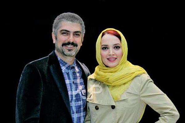 جدید ترین عکس بهنوش طباطبایی و همسرش مهدی پاکدل