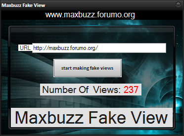 Maxbuzz Fake View Maker (ijad kardane amare taqalobi dar forum ha va site ha) Fw