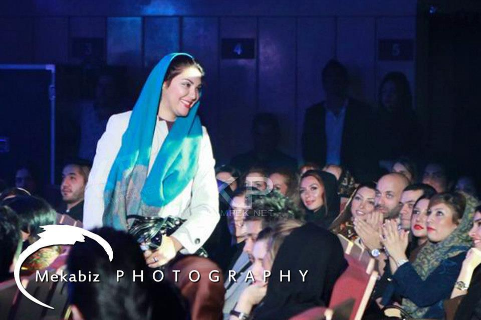 عکس های لاله اسکندری در کنسرت سهراب پاکزاد