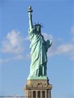 مجسمه ی آزادی در امریکا