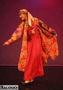 رقص زنانه بلوچی