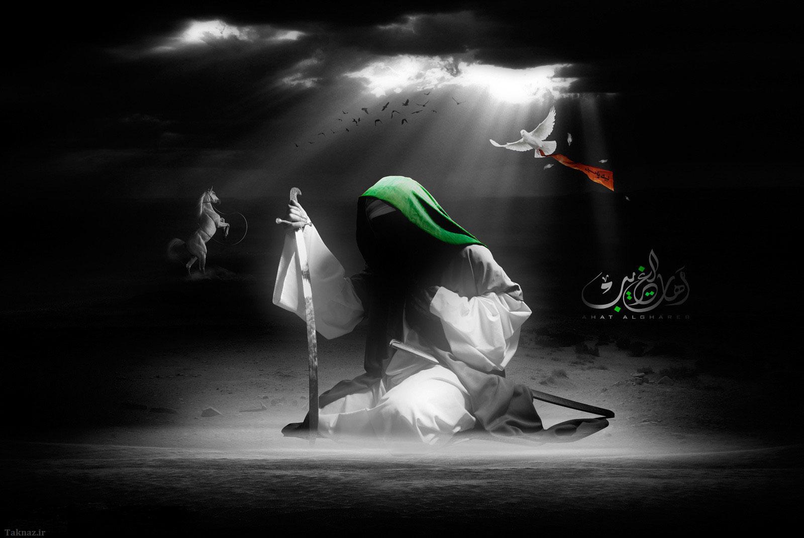 امام حسين در كربلا