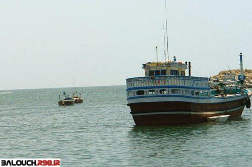 کشتی های بندر چابهار