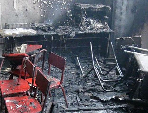 خطر آتش سوزي در انتظار ۳۰ درصد از دانش آموزان کشور