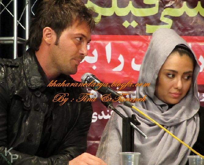 الناز بهمن زاده و دانیال عبادی بازیگران سریال راستش را بگو