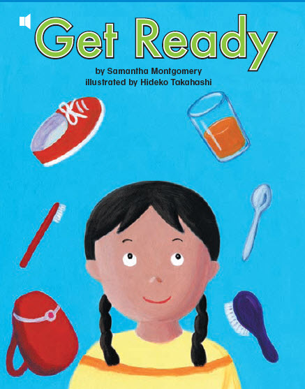 کتاب صوتی و تصویری get ready برای کودکان