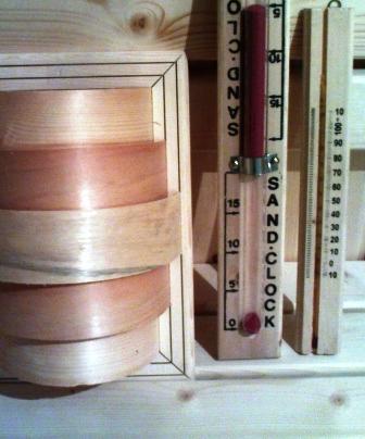 سونای خشک پرتابل ، کلبه چوبی و آلاچیق