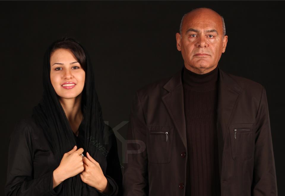 عکس جدید پادینا رهنما در کنار جمشید هاشم پور