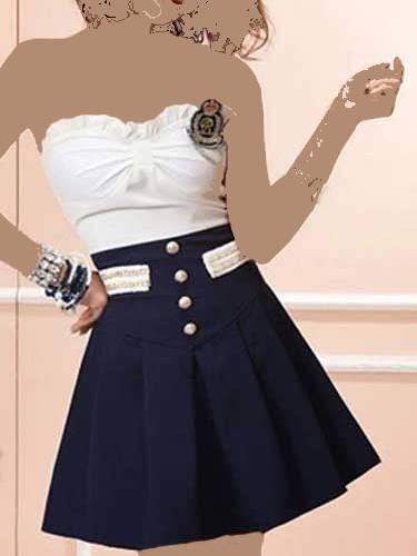 مدل لباس کوتاه مجلسی دخترانه