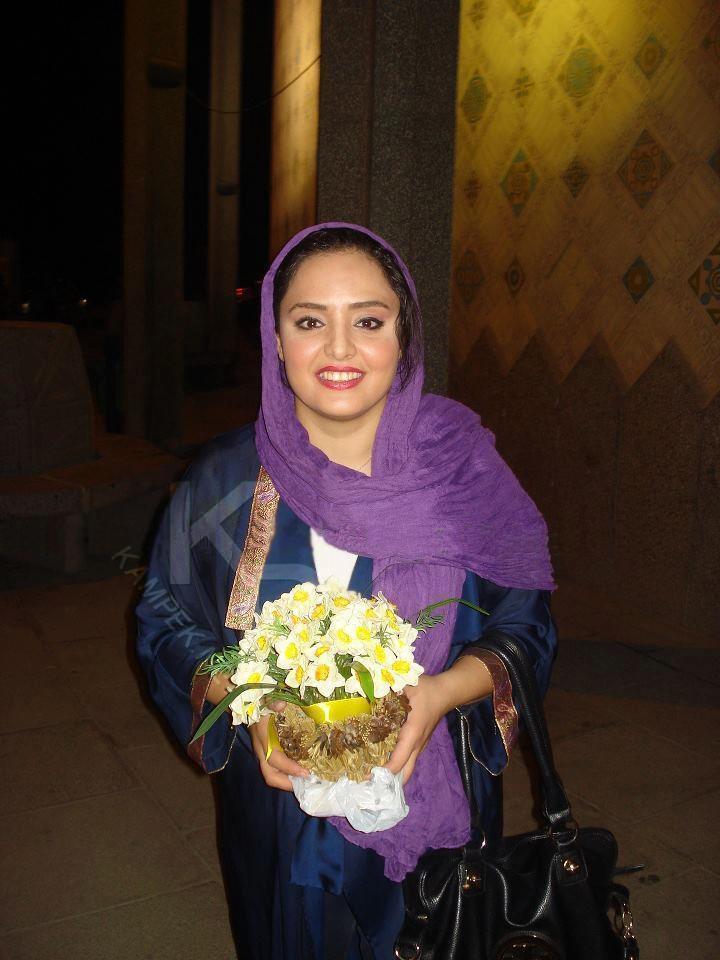 عکس شخصی و جدید نرگس محمدی