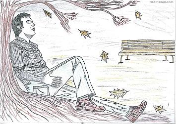 نقاشی با مضمون چاوشی