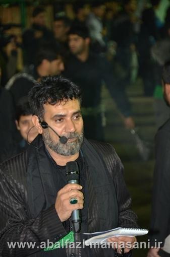 حاج عباس خسروی محرم 91