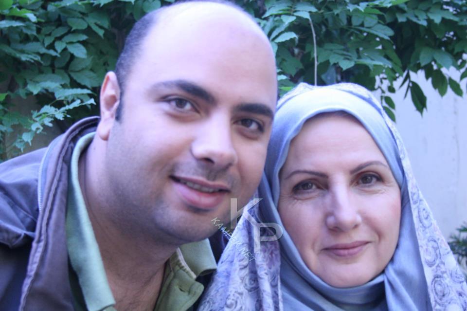 عکس جدید زهرا سعیدی و پسرش
