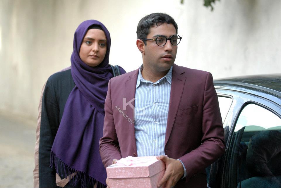عکس های سامان گوران و نرگس محمدی در سریال میلیاردر