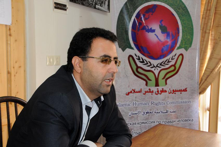 دکتر رضا مسعودی فر معاون قضايي و سرپرست معاونت پيشگيري از وقوع جرم دادگستري آذربايجان شرقي