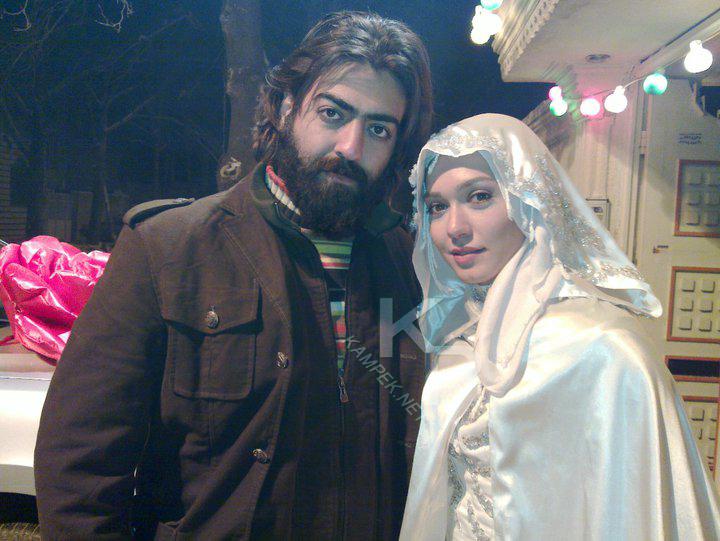 عکس شهرزاد کمال زاده با لباس عروس