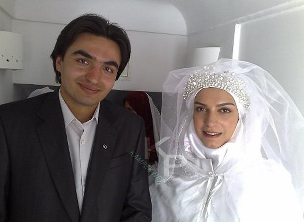 عکس الیکا عبدالرزاقی با لباس عروس