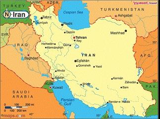 نقشه کشور ایران