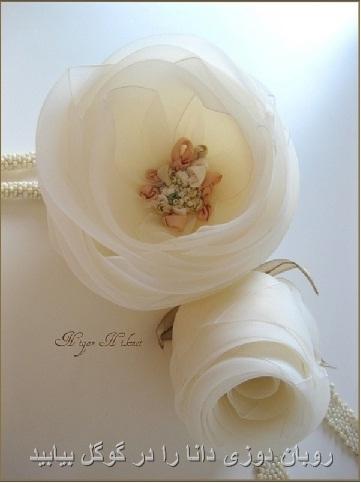 گل های سفید