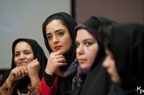 نرگس محمدی در نشست خبری سریال میلیاردر