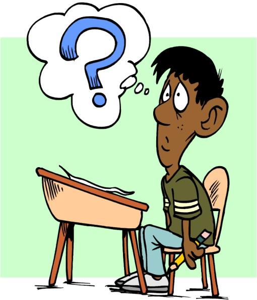 سوال - question - فکر کردن در مورد سوال خیلی سخت