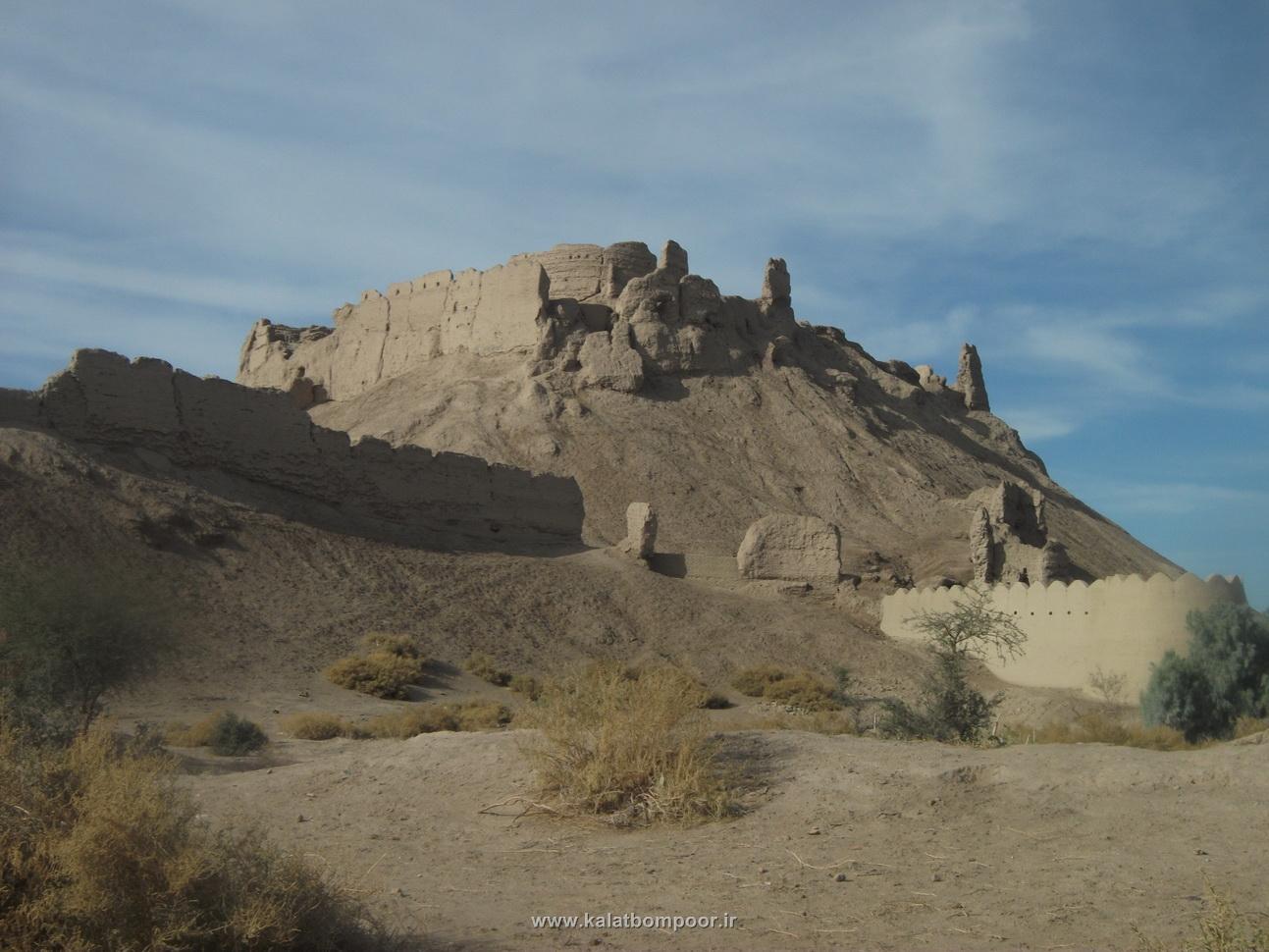 قلعه بمپور یادگار ساسانیان