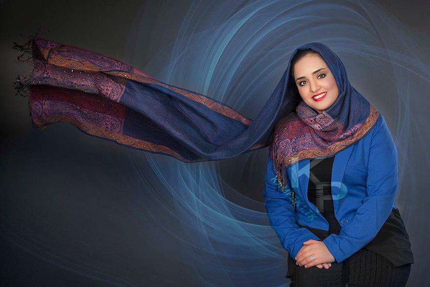 جدید ترین عکس های اتیله ای نرگس محمدی