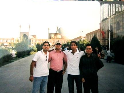 میدان امام اصفهان (تابستان 85)