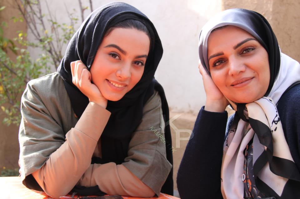 عکس های سحر افتاده و الهام پاوه نژاد بازیگران سریال یلدا