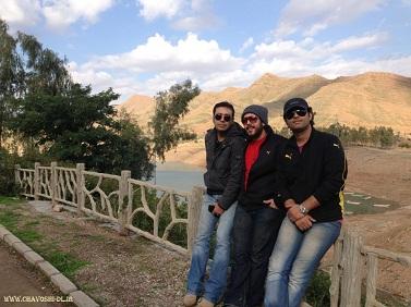 عکس جدید محسن چاوشی در خوزستان