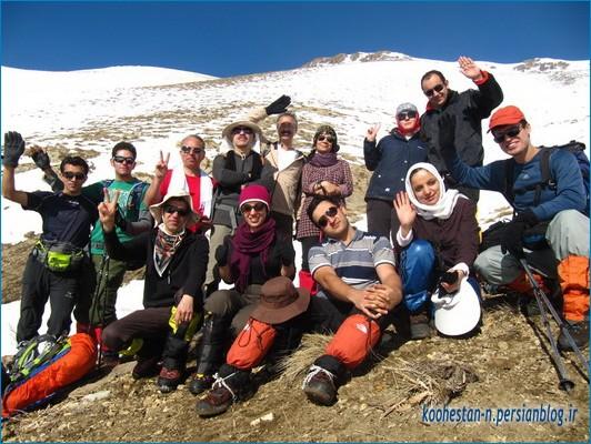 گروه کوهنوردی همه ما