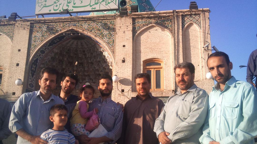 اردوی قم - تابستان 1391 - قبرستان شیخان