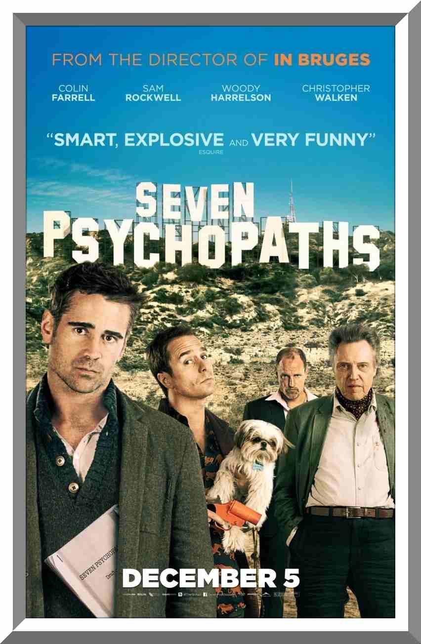 فیلم Seven Psychopaths 2012