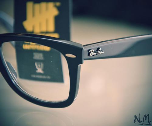 فروش عینک ویفری شیشه شفاف ریبن reay ban