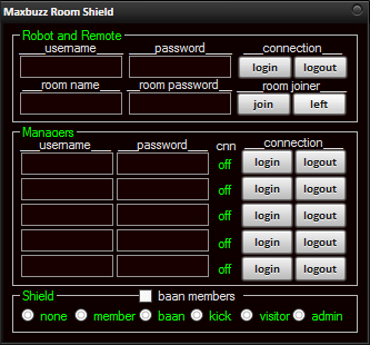 Maxbuzz room shield Rsh