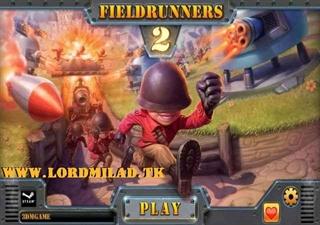 دانلود بازی کم حجم Fieldrunners 2 برای کامپیوتر
