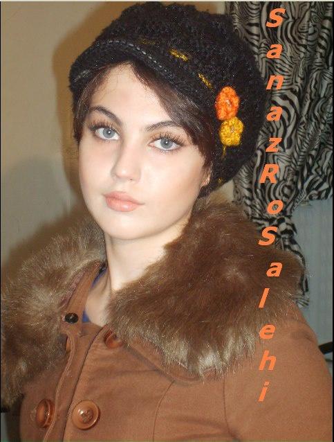 ساناز صالحی زیباترین مانکن 16 ساله ایرانی 1
