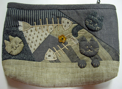 کیف گربه و ماهی