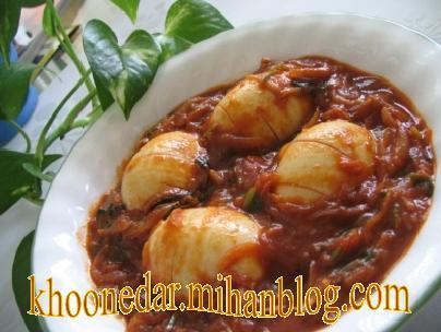 ماسالای تخم مرغ ( هندی )