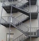 پله فلزی ، پله فرار اضطراری
