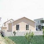 خانه پیش ساخته SH با فنداسیون پیش ساخته