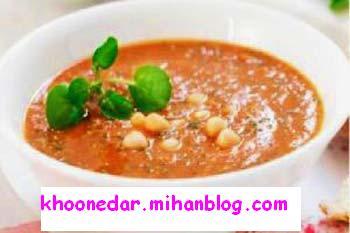 pea soup,سوپ نخود،آشپزی خونه دار