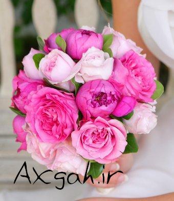 wedding flower bridal bouquet roses 4 e جدید ترین دسته گل های عروس 2013