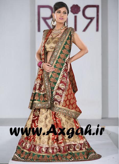 indian bridal dresses 2012 3  مدل های لباس هندی 2013