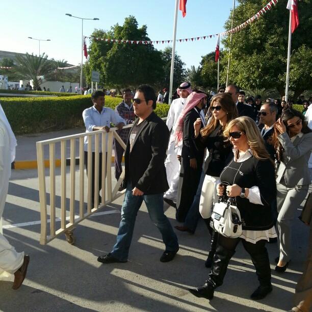 سری تکمیلی عکس های نانسی عجرم در بحرین 2013