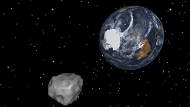 سیارکی که چهره زمین را تغییر داد