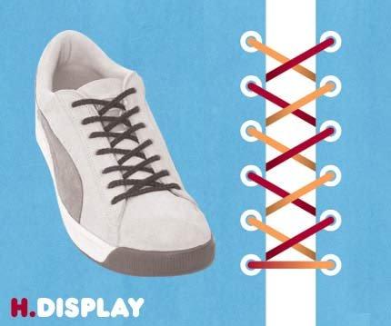 14 روش بستن بند کفش!